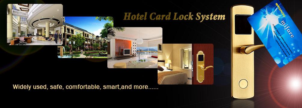 Hotel Door Door Locks Hotel Card Lock