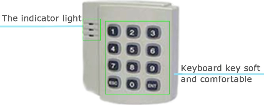 The IC system of the elevator elevator card, card reader, access control card reader, access control card time limit time embedded installation