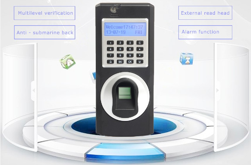Fingerprint Attendance Machine With Network For Time Tracking