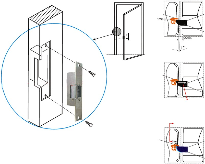 Wheelchair Lift Wiring Diagram For Control besides Door Handle Schematics likewise Von Duprin Wiring Diagram moreover Mag Lock Wiring Diagram besides 2014 0518 205. on wiring diagram electric door strike