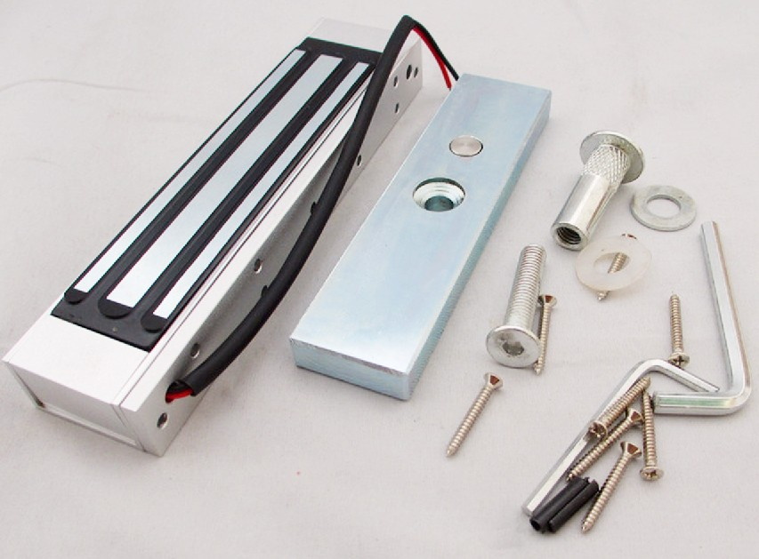 Automatic Door Lock Electromagnetic Magnetic Glass Set Electric