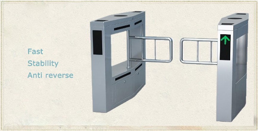 Luxury access swinging gate card, smart people for the gateway site / community attendance swing gate