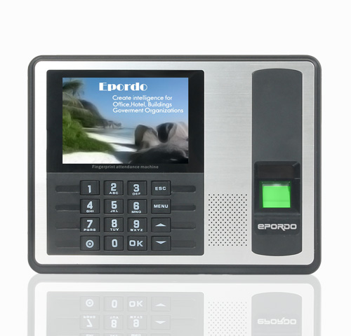 FX-3 Fingerprint time attendance with 4.0 inch TFT
